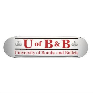 University of Bombs & Bullets Skateboards