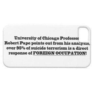 University of Chicago Professor Robert Pape iPhone 5 Cover