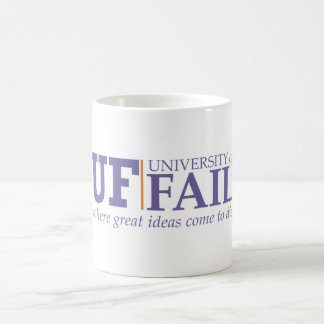 University of Fail coffee mug