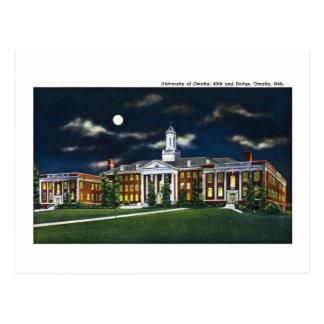 University of Omaha, Nebraska Postcard