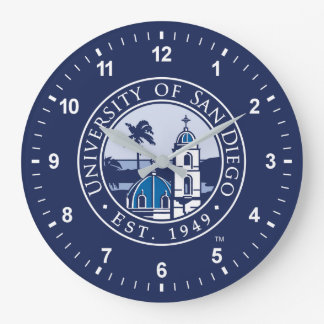 University of San Diego | Est. 1949 Large Clock
