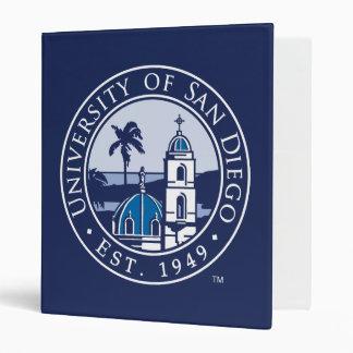 University of San Diego | Est. 1949 Vinyl Binders