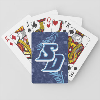 University of San Diego - Tropical Floral Pattern Playing Cards