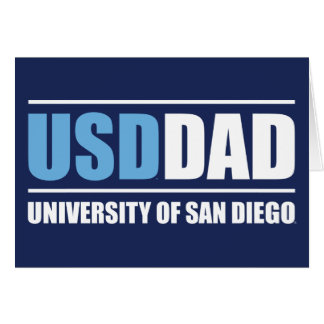 University of San Diego | USD Dad Card