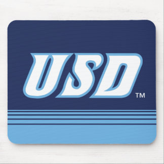 University of San Diego | USD Stripes Mouse Pad