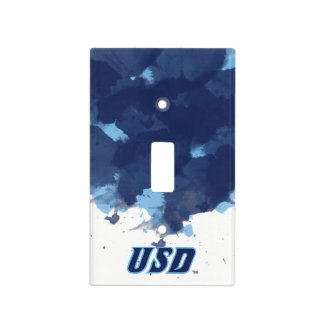 University of San Diego | USD Watercolor Light Switch Cover