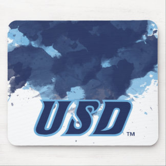 University of San Diego | USD Watercolor Mouse Pad