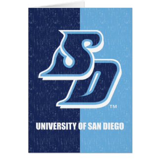 University of San Diego Vintage Card