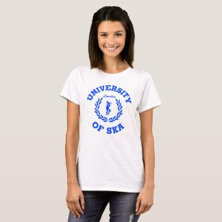 University of Ska London ladies blue T-Shirt