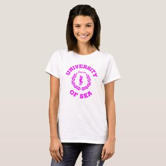 University of Ska London ladies pink T-Shirt