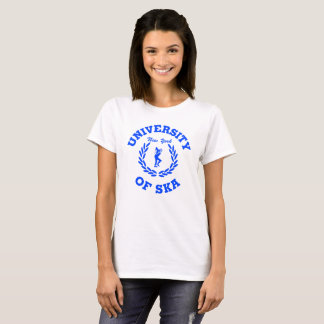 University of Ska New York ladies blue T-Shirt