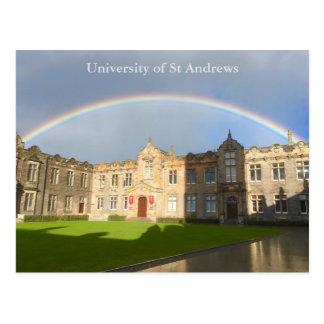 University of St Andrews St Salvator's Quad Card Postcard