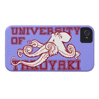 University of Takoyaki Japanese octopus funny food Case-Mate iPhone 4 Case