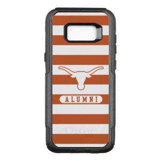 University of Texas | Alumni Striped Pattern OtterBox Commuter Samsung Galaxy S8+ Case