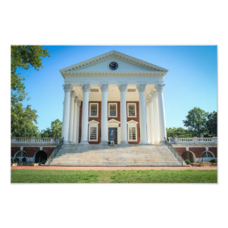 University of Virginia Rotunda Photo Print