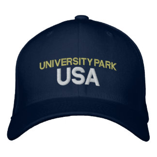 University Park USA Cap Embroidered Baseball Cap