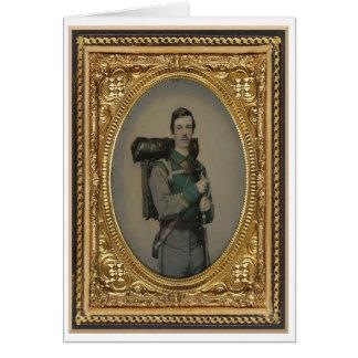 Unknown Confederate Soldier, Studio Portrait Card