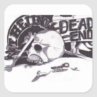 Unknown - Dead End Sticker