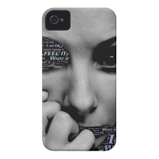 unknown face iPhone 4 Case-Mate cases