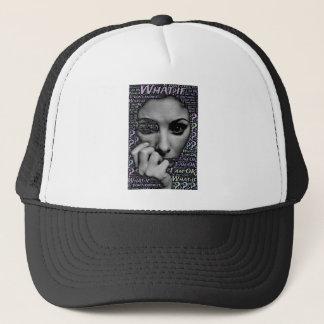 unknown face trucker hat