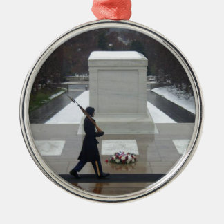 """Unknown Soldier"" Metal Ornament"