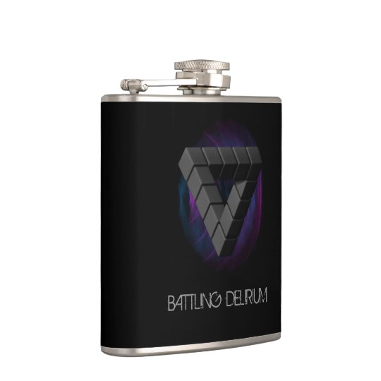 Unknown Things Logo - Flask