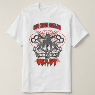 Unleash the Beast Big Dog Graphic T-shirt