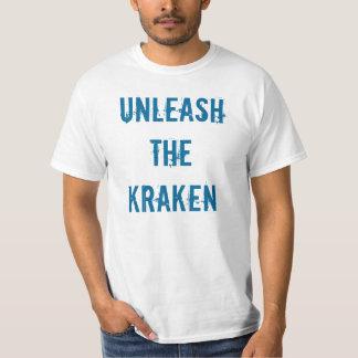 Unleash the kraken shirt