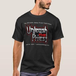 Unleash The Priest black t-shirt