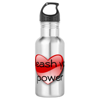 Unleash your power water bottle
