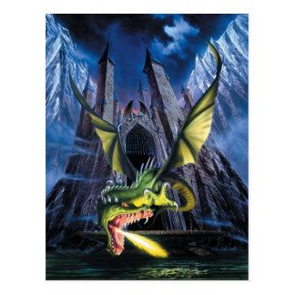 Unleashed Dragon Postcard