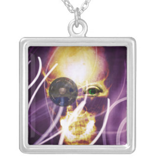 Unleashed Silver Plated Necklace