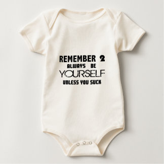 Unless You Suck.jpg Baby Bodysuit