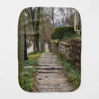 Unlevel Pathway Burp Cloth