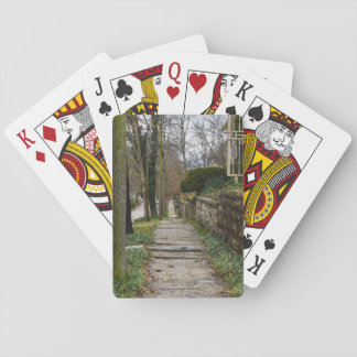 Unlevel Pathway Playing Cards