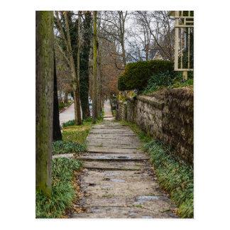 Unlevel Pathway Postcard