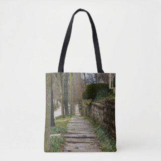 Unlevel Pathway Tote Bag