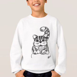 Unlikely Friends Cat and Mouse Sweatshirt