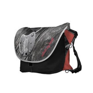 unlock my heart courier bag