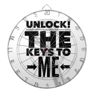 Unlock! The Keys to Me Dartboard