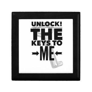 Unlock! the Keys to Me Jewelry Box
