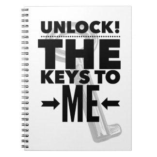 Unlock! The Keys to Me Notebook