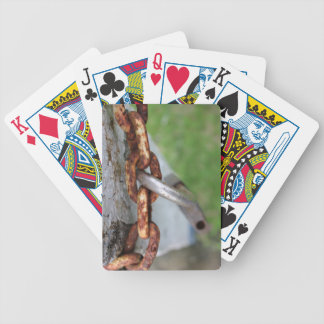 unlocked bicycle playing cards