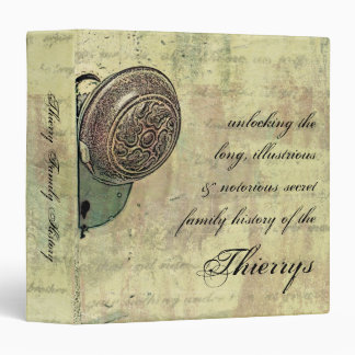 "Unlocking Family History Secrets revised (1.5"") Vinyl Binders"