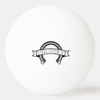 Unlucky Horseshoe Bad Luck Ping Pong Ball