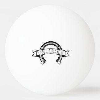 Unlucky Horseshoe Ping Pong Ball