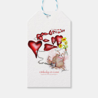 unlucky in love, tony fernandes gift tags