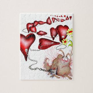unlucky in love, tony fernandes jigsaw puzzle