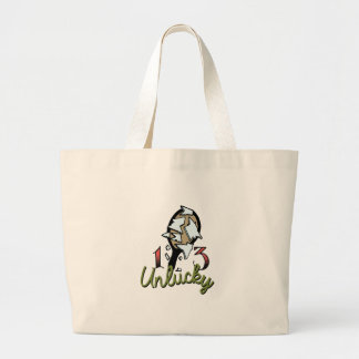 Unlucky Mirror Large Tote Bag