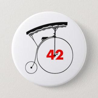 Unmutual 42 3 inch round button